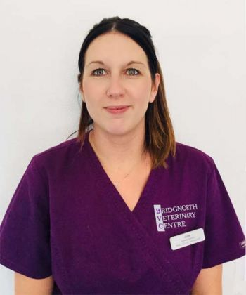 Jodie Ellis RVN - Senior Nurse and Practice Co-ordinator